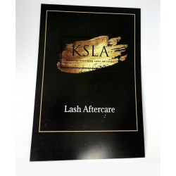 Lash Aftercare Cards